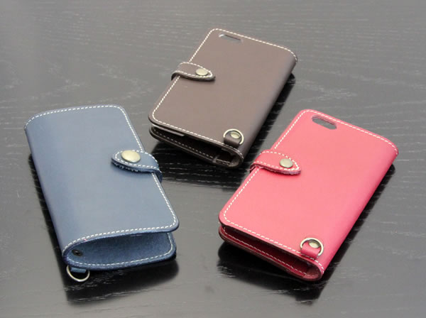 本革のiPhoneケース