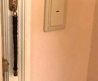 ドアロックチェーンカバー