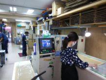 9月 池田 作業風景 上田さん考案新マスクケース
