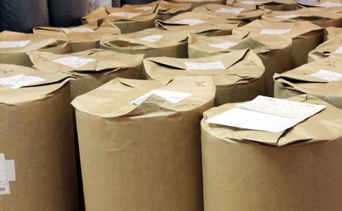 様々な種類の製品に合わせた材料手配・数量管理